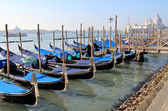 Gondola 's dock — ストック写真