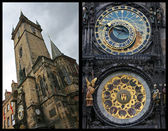 Prag-collage — Stockfoto
