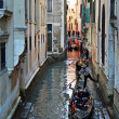 Gondolier skills — Stock Photo #9534013