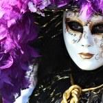 Purple mask detail — Stock Photo #9543767