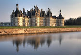 Chambord chateau Val de Loire — Stock Photo