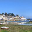 Stock Photo: Sauzon in Belle ile en mer