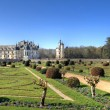 Chenonceau garden - Stock Photo