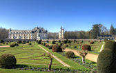Chenonceau garden — Stock Photo