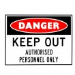Royalty-Free Stock Photo: Danger sign