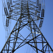 High Voltage Electricity Tower — Stock Photo