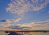 Sunset Nautical Theme — Stock Photo