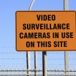 Royalty-Free Stock Photo: Video Surveillance Sign