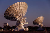 Two Compact Array Telescopes — Stock Photo