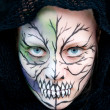 Stock Photo: Halloween Face Painting