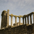 Ruins of Roman Temple, Evora — Stock fotografie