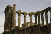 ερείπια του ρωμαϊκού ναού, evora — Φωτογραφία Αρχείου