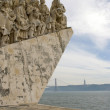 Monument of discoveries, Belem — Stock Photo