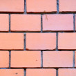 Red bricks wall texture — Stock Photo
