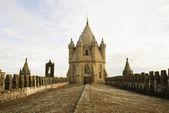 Catedral de évora, portugal — Foto Stock