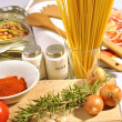 Food italian — Stock Photo #9032284