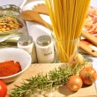 Food italian — Stock Photo