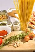 Food italian — Stock Photo