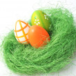 Colorful Easter eggs — Stock Photo #9676514