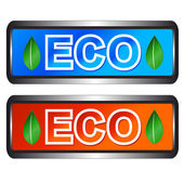 Eco symbols — Stock Vector