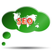 SEO - Search Engine Optimization — Vettoriale Stock