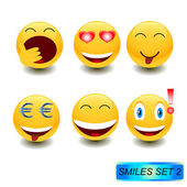 Smiles 2 — Stock Vector