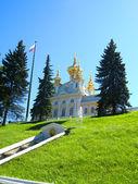 Russian palace — Stock Photo