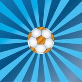 Pallone d'oro — Vettoriale Stock