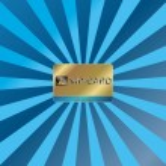 Gold vip card — Stock Vector