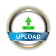 Upload icon — Stock Vector
