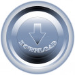 Royalty-Free Stock Vector Image: Download button