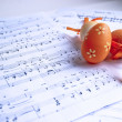 Stock Photo: Easter & music