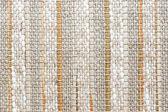 Matière tissée avec bandes verticales de couleurs — Photo