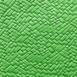 Woven green leather background — Foto Stock