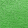 Royalty-Free Stock Photo: Woven green leather background