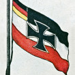Royalty-Free Stock Photo: Flags of Germany 1933 and 1495
