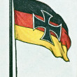 Royalty-Free Stock Photo: Old German Flag