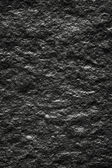 Black wall stone background — Stock Photo