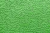 Woven green leather background — Stock Photo