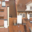 Royalty-Free Stock Photo: Old tiled roofs