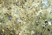 Kamień mineralne pirite — Zdjęcie stockowe