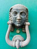 Antique knocker — Stock Photo