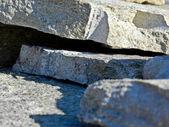 Astonishing modern stone cladding — Stock Photo