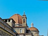 San Lorenco in Florence — Stock Photo