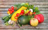 Grönsaker och frukt — Stockfoto