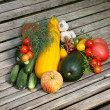 Vegetables and fruit — Stock Photo #10379304