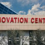 Innovation centre — Stock Photo