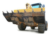 Yellow loader — Stock Photo