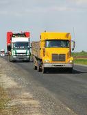 Lorries — Stock Photo