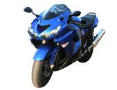 白い背景の上にオートバイします。. — ストック写真
